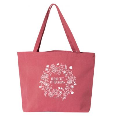 Fresh-Out-Fuchsias-Tote-Bag