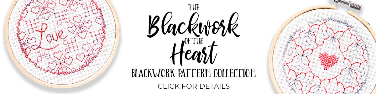 Blackwork of the Heart pattern collection