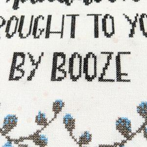 Adulthood cross stitch pattern