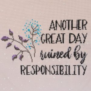 Another Great Day cross stitch pattern