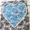 Flowers of Love cross stitch pattern