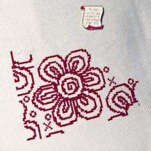 Flowers of Love cross stitch pattern
