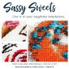 Sassy Sweets SAL cross stitch pattern set
