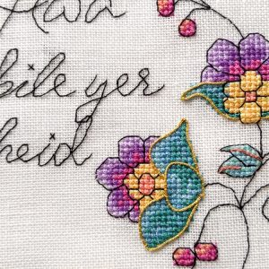 Awa an Bile cross stitch pattern