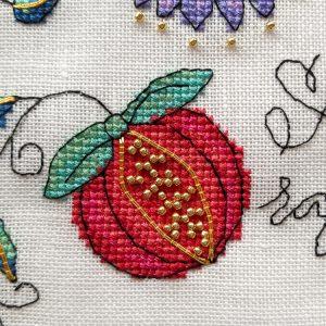 Awa an Raffle Yersel cross stitch pattern