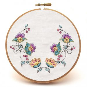 Awa an Bile cross stitch pattern no text