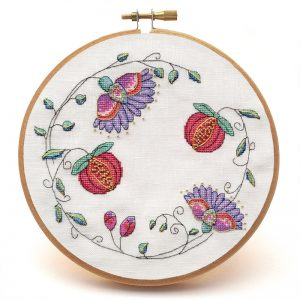 Awa an Raffle Yersel cross stitch pattern no text