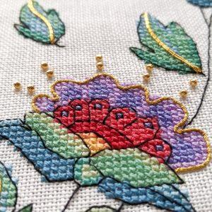 Bassa cross stitch pattern