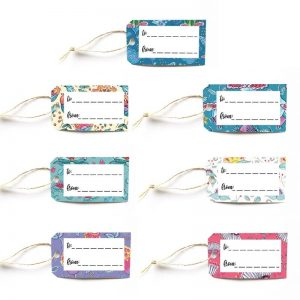 Cheeky Wee Lass gift tag set