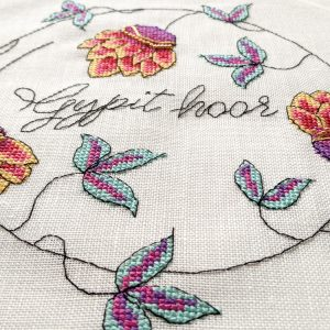 Gypit Hoor cross stitch pattern