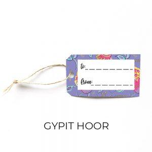 Gypit Hoor gift tag