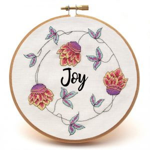 Gypit hoor cross stitch pattern custom sample