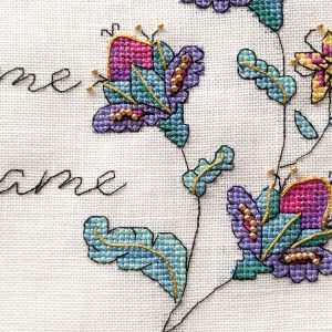 Pooch Me Hame cross stitch pattern