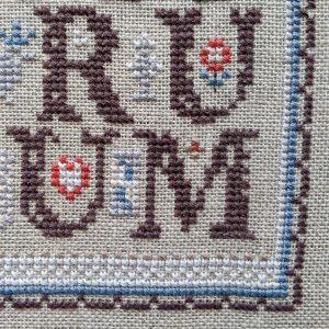ABC OMG cross stitch pattern