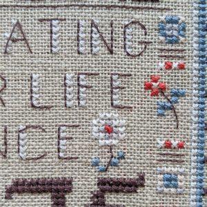 Samplers Since 1675 cross stitch pattern