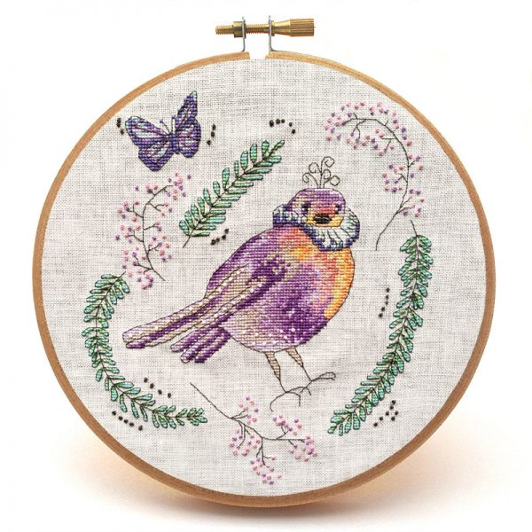 Brave Sir Robin cross stitch pattern