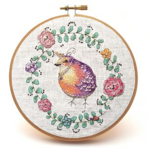Lord Fatbottom Cross Stitch Pattern