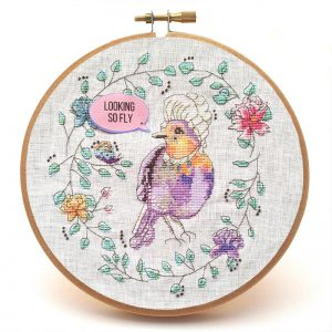 Marie LaTweetonette cross stitch pattern