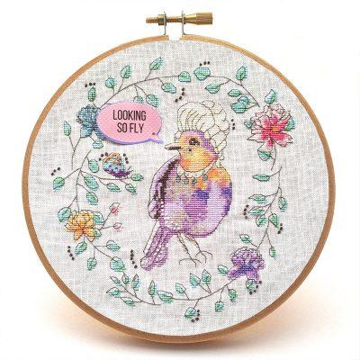 Marie LaTweetonette cross stitch pattern