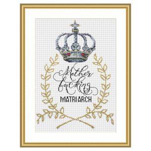 Mother Matriarch cross stitch pattern