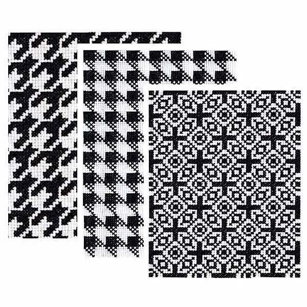 Expansion pack shop geometric cross stitch pattern