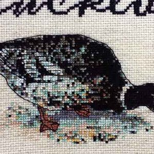 Get Ducked subversive cross stitch pattern