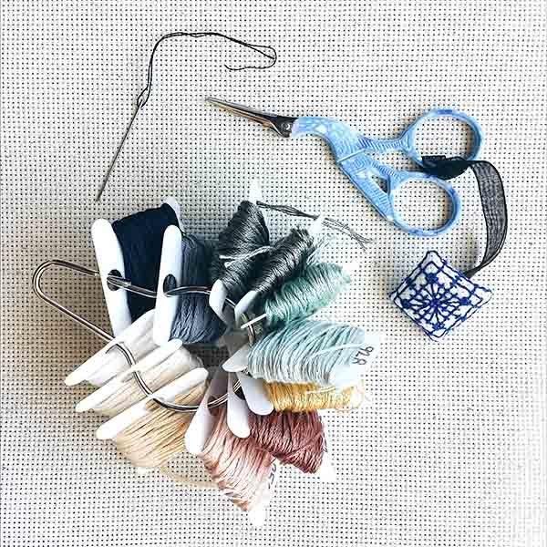 Get Ducked subversive cross stitch pattern funny needlepoint